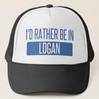 Ich würde eher in Logan sein Truckerkappe