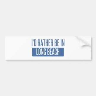 Ich würde eher in Long Beach NY sein Autoaufkleber