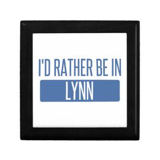 Ich würde eher in Lynn sein Erinnerungskiste