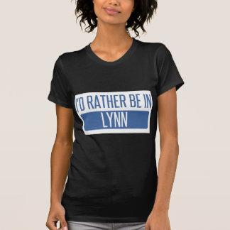 Ich würde eher in Lynn sein T-Shirt