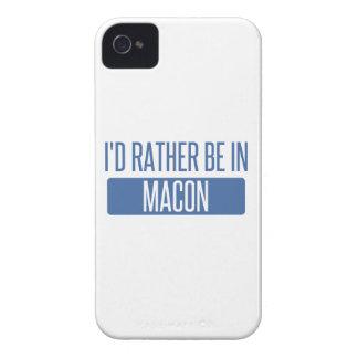 Ich würde eher in Macon sein iPhone 4 Case-Mate Hüllen