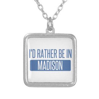 Ich würde eher in Madison WI sein Versilberte Kette