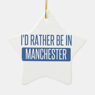 Ich würde eher in Manchester sein Keramik Ornament