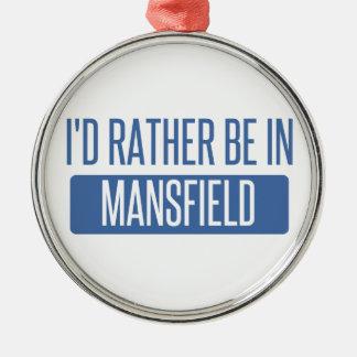 Ich würde eher in Mansfield OH- sein Silbernes Ornament