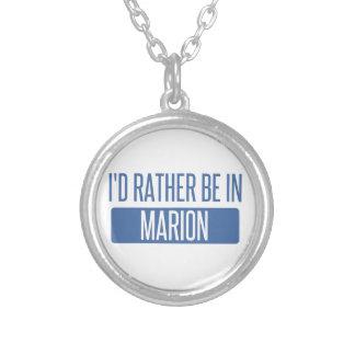 Ich würde eher in Marion sein Versilberte Kette