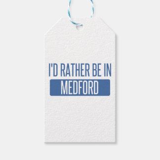 Ich würde eher in Medford sein ODER Geschenkanhänger