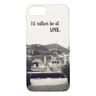 Ich würde eher in Meer - Bootstelefonkasten sein iPhone 8/7 Hülle