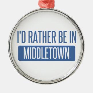 Ich würde eher in Middletown OH- sein Silbernes Ornament