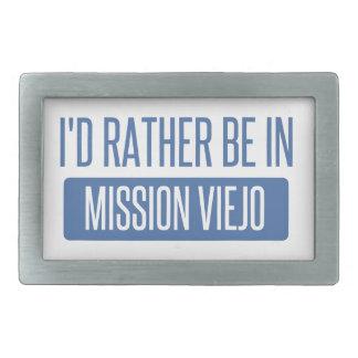 Ich würde eher in Mission Viejo sein Rechteckige Gürtelschnalle