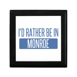 Ich würde eher in Monroe sein Erinnerungskiste