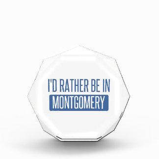 Ich würde eher in Montgomery sein Auszeichnung