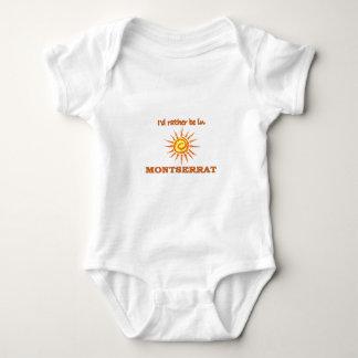 Ich würde eher in Montserrat sein Baby Strampler