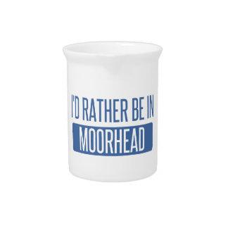 Ich würde eher in Moorhead sein Getränke Pitcher