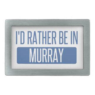 Ich würde eher in Murray sein Rechteckige Gürtelschnalle