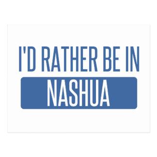 Ich würde eher in Nashua sein Postkarte