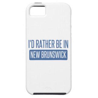 Ich würde eher in New-Brunswick sein Tough iPhone 5 Hülle