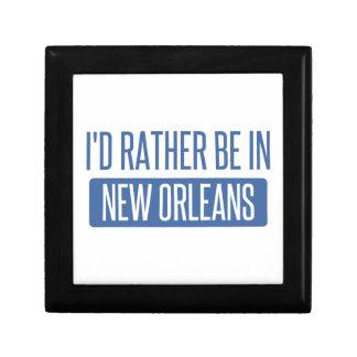 Ich würde eher in New Orleans sein Schmuckschachtel