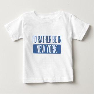 Ich würde eher in New York sein Baby T-shirt
