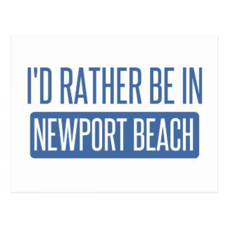 Ich würde eher in Newport-Strand sein Postkarte