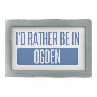 Ich würde eher in Ogden sein Rechteckige Gürtelschnalle