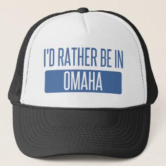 Ich würde eher in Omaha sein Truckerkappe
