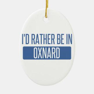 Ich würde eher in Oxnard sein Keramik Ornament