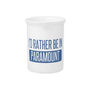 Ich würde eher in Paramount sein Krug