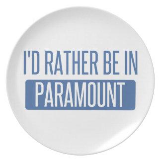 Ich würde eher in Paramount sein Teller