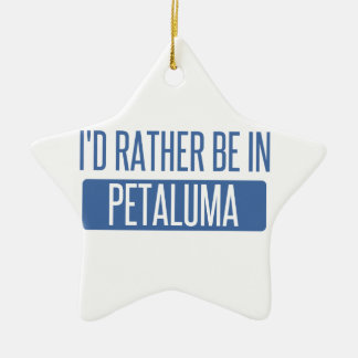 Ich würde eher in Petaluma sein Keramik Ornament