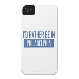 Ich würde eher in Philadelphia sein iPhone 4 Case-Mate Hüllen