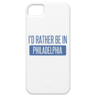 Ich würde eher in Philadelphia sein iPhone 5 Cover