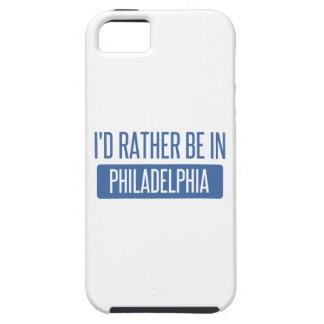 Ich würde eher in Philadelphia sein iPhone 5 Hülle