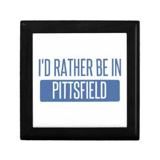 Ich würde eher in Pittsfield sein Schmuckschachtel