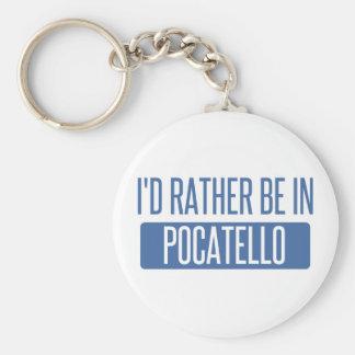 Ich würde eher in Pocatello sein Schlüsselanhänger