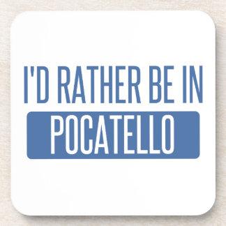 Ich würde eher in Pocatello sein Untersetzer