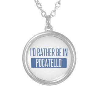 Ich würde eher in Pocatello sein Versilberte Kette