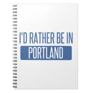 Ich würde eher in Portland ICH sein Spiral Notizblock