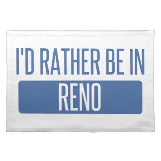 Ich würde eher in Reno sein Tischset