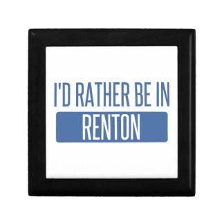 Ich würde eher in Renton sein Geschenkbox