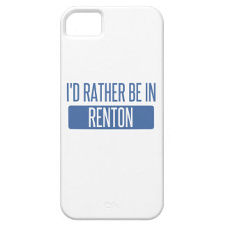 Ich würde eher in Renton sein iPhone 5 Case