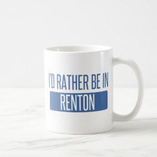 Ich würde eher in Renton sein Kaffeetasse