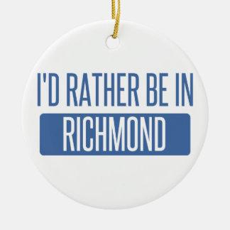 Ich würde eher in Rio Rancho sein Keramik Ornament
