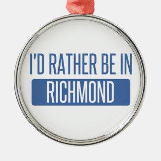 Ich würde eher in Rio Rancho sein Silbernes Ornament