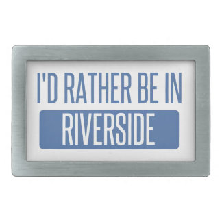 Ich würde eher in Riverton sein Rechteckige Gürtelschnallen