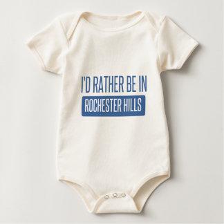 Ich würde eher in Rochester Mangan sein Baby Strampler