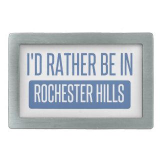 Ich würde eher in Rochester Mangan sein Rechteckige Gürtelschnalle