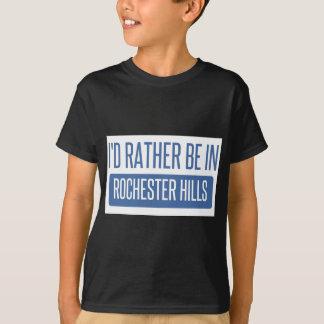 Ich würde eher in Rochester Mangan sein T-Shirt