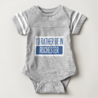 Ich würde eher in Rochester NY sein Baby Strampler