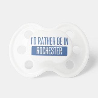 Ich würde eher in Rochester NY sein Schnuller
