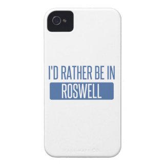 Ich würde eher in Roswell GA sein Case-Mate iPhone 4 Hülle